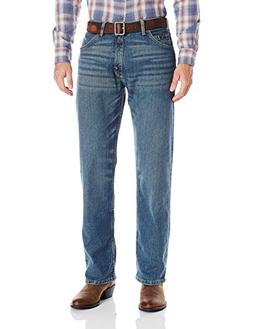 Wrangler Men's 01 Competition Relaxed Fit Jean, Barrel, 38x3