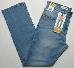 Wrangler #10048 NEW Men's Slim Straight Stretch Straight Leg