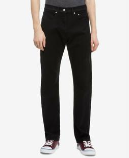 $125 Calvin Klein Jeans Men'S 36w X 30l Black Relaxed Fit Da