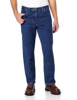 Dickies Men's Relaxed Fit Jean, Indigo Blue, 38x36