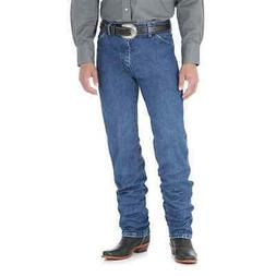13MWZGK Wrangler Men's Cowboy Cut Original Fit Jeans Stone W