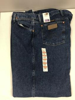 13MWZGK Wrangler Men's Cowboy Cut Original Fit Jeans Stone W