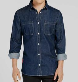 Calvin Klein Jeans men's size large denim utility long sleev