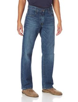 Lucky Brand Mens 181 Relaxed Straight-Leg Jean in Dellwood