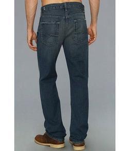 7 For All Mankind $198 Men's Carsen Easy Straight Leg Jeans