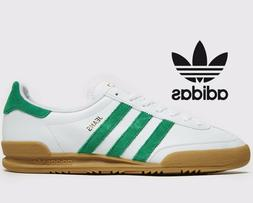 🔥 2019 Authentic Adidas Originals JEANS ®  White Green