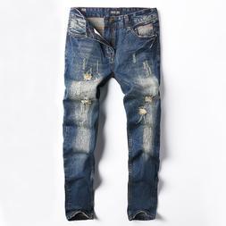 2019 Fashion <font><b>Jeans</b></font> <font><b>Men</b></fon