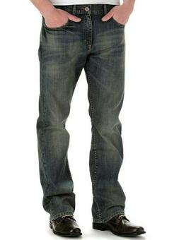 LEE 20199 Men's Modern Series Relaxed Bootcut Jeans, Santiag