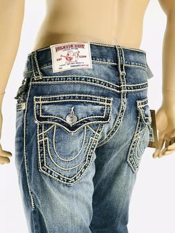 $349 Rope True Religion Men Jeans Rope Stitch 31 32 34 36 38