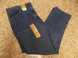 Wrangler 40 X 32 Men's Relaxed Fit  Premium 4 way Flex Jeans