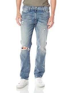 Lucky Brand Men's 410 Athletic Fit Jean, Seven Seas, 42 x 30
