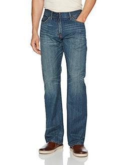U.S. Polo Assn. Men's 5 Pocket Boot Cut Denim Jean, Blue, 32