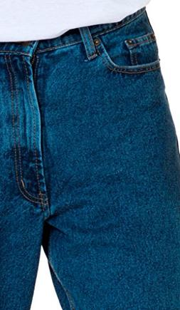 FULL BLUE 5 POCKET RELAX FIT JEANS BIG AND TALL