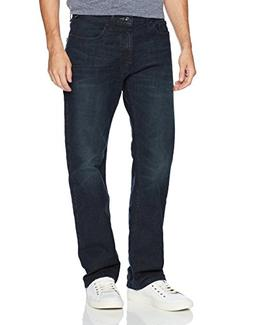 Nautica Men's 5 Pocket Relaxed Fit Stretch Jean, Pure Adriat