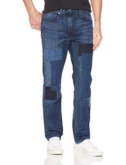 Nautica Men's 5 Pocket Straight Fit Stretch Jean, Night Surf