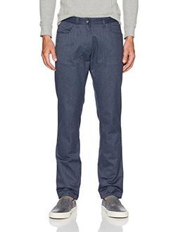 Calvin Klein Men's 5 Pocket Stretch Pant, Cadet Navy, 30W 32