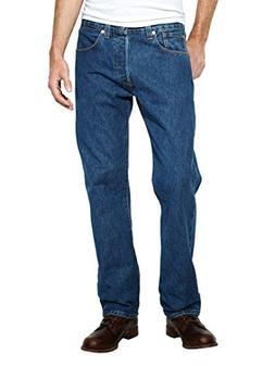 Levi's Mens 501 Regular Straight-Leg Denim Jeans Blue Size 3