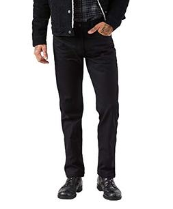 Levi's Men's 501 Original Fit Jean, Black, 35X32