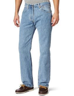 Levi's Men's 501 Original Fit Jean, Light Stonewash, 33x29