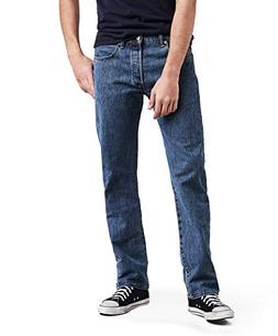 Levi's Men's 501 Original Fit Jean, Dark Stonewash, 36x32