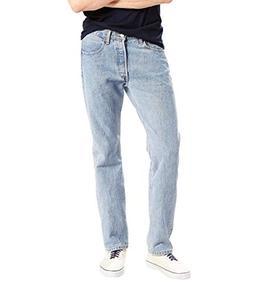 Levi's Men's 501 Original Fit Jean, Dark Stonewash, 35X30