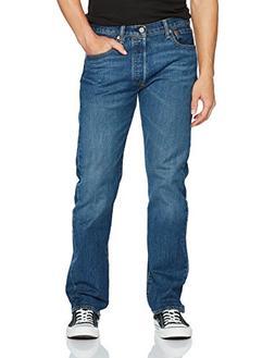 Levi's Men's 501 Original Fit Jean, Purple Rain-Stretch, 34