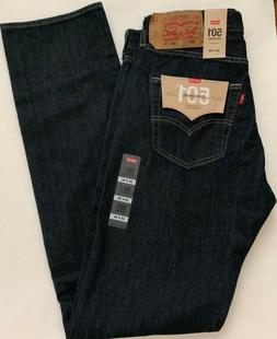 Levi's Men's 501 Original Fit Jean, Clean Rigid, 32x36