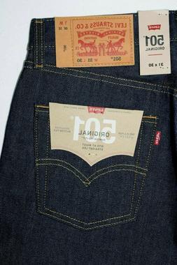 501 Levi's Men's Jeans 100% Cotton SHRINK TO FIT : 005010000