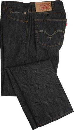 Levi's Men's 501 Shrink To Fit Jean, Black STF - Big & Tall,