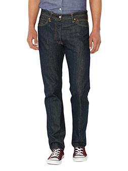 Levi's Mens 501 Straight Jeans Blue Size 33 Length 32