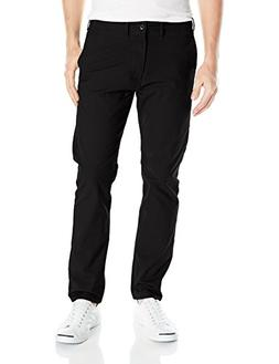 Levi's Men's 502 Regular Taper Fit Chino Pant, Black Stretch