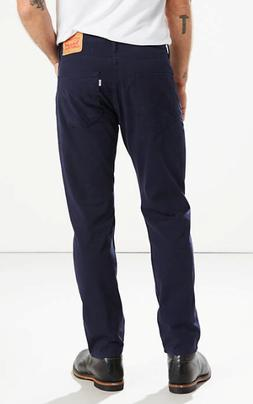 502 Taper Fit Men's Jeans Navy Stretch $59.50 Style #2950701