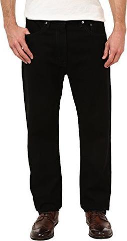 Levi's  Big & Tall Men's Big & Tall 505 Regular Black 44 X 2