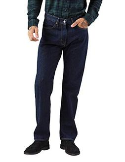 Levi's Men's 505 Regular Fit-Jeans, Rinse, 32W x 36L