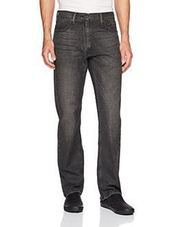 Levi's Men's 505 Regular Fit-Jean's, Kansas-Stretch, 34W x 3