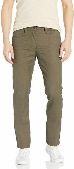 Levi's Men's 511 Slim Fit Jean, New Khaki 3D - Stretch, 32W