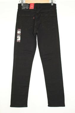 Levi's Men's 511 Slim Fit Jean, Black Stretch, 40x32