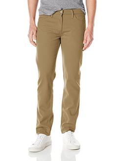 Levi's Men's 511 Slim Fit Jean, Kakhi - Piece Dye - Stretch,