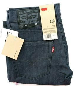 Levi's Men's 511 Slim Fit Jean , Rigid Grey, 28x30