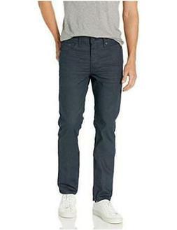 Levi's Men's 511 Slim Fit Jean, Black Indigo 3D, 34W x 32L