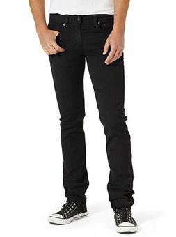 Levi's Men's 511 Slim Fit Jean, Black - Stretch, 30W x 29L