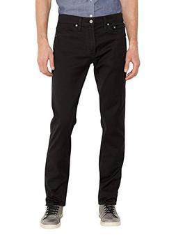 Levi's Mens 511 Slim-Fit Jeans Black Size 34 Length 30