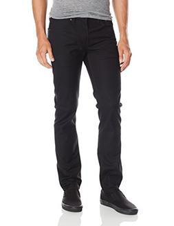 Levi's Men's 511 Slim Fit White Tab Stretch Jean, Black, 28x