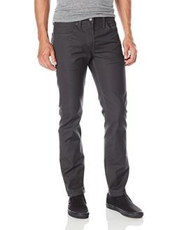 Levi's Men's 511 Slim Fit White Tab Stretch Jean, Graphite,