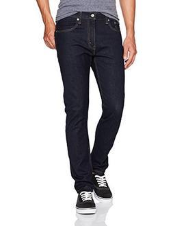 Levi's Men's 512 Slim Taper Fit Jean, Dark Hollow/Stretch, 3