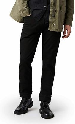 Levi's Men's 513 Stretch Slim Straight Jean, Jet, 32x32