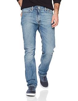 Levi's Men's 513 Slim Straight-Jeans, Pulley, 33W x 34L