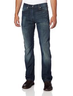 Levi's Men's 513 Stretch Slim Straight Jean, Cash, 33x30