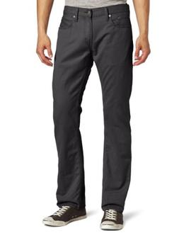 Levi's Men's 514 Straight Leg Twill Pant, Graphite, 33x30
