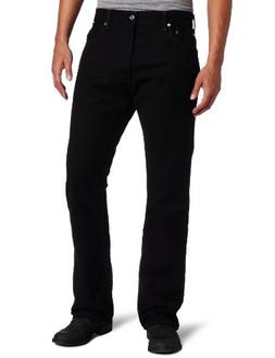 Levi's Men's 517 Boot Cut Jean, Black, 34x34